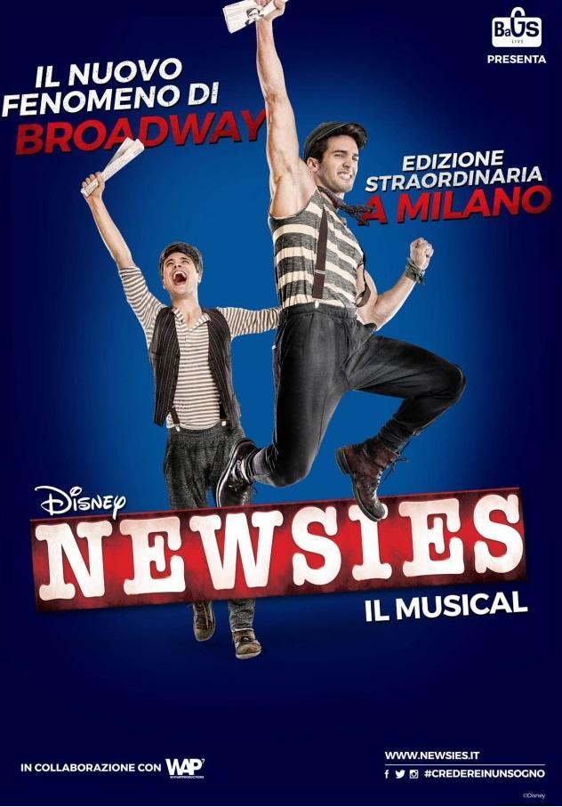 Newsies Poster Italia