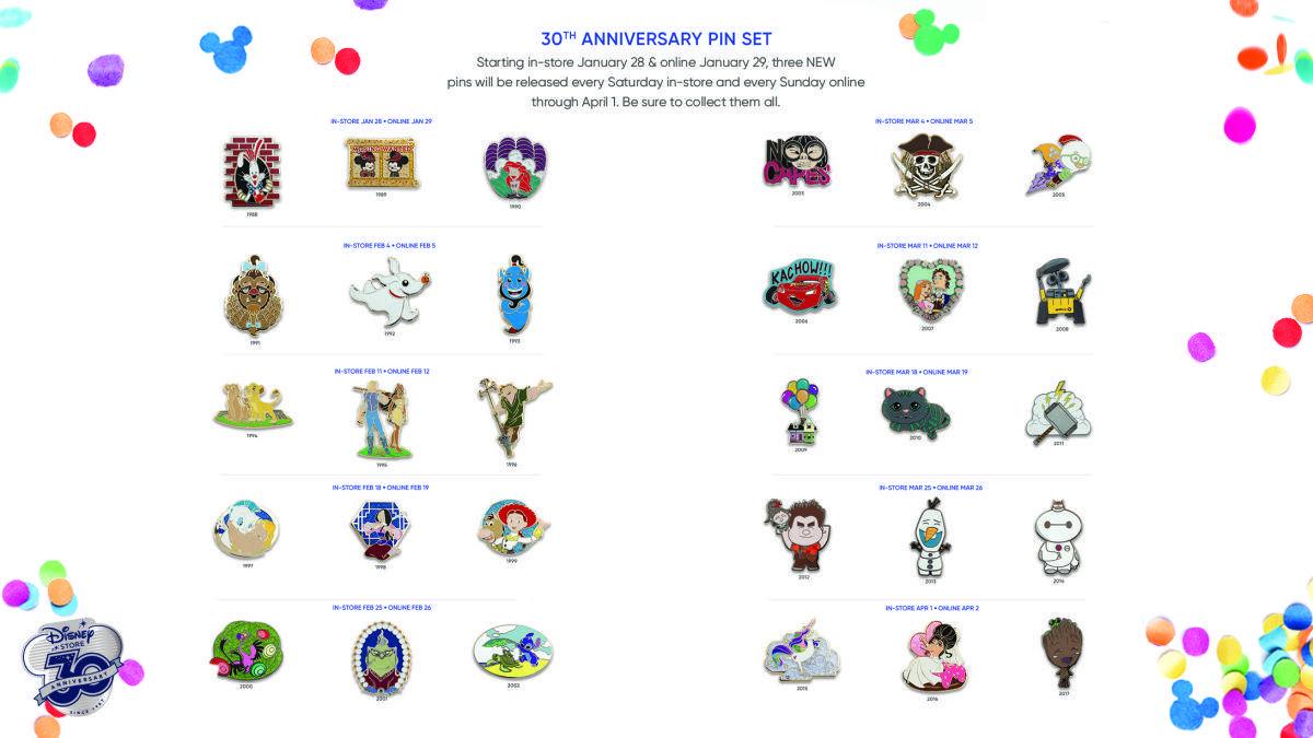 disney-store-pins-30th-anniversario