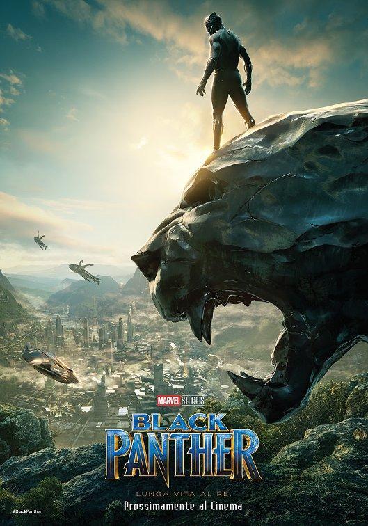 black panther pantera nera marvel nuovo poster comic con