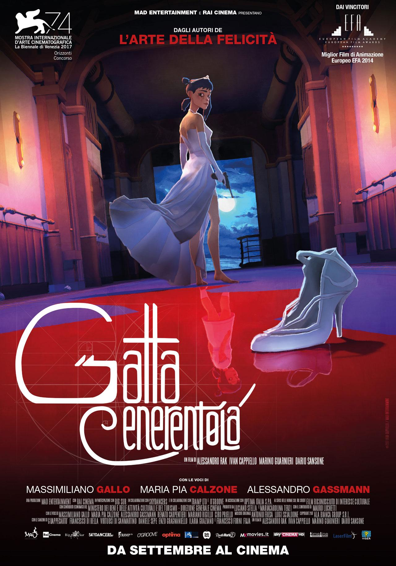 gatta cenerentola poster mad entertainment settembre 2017