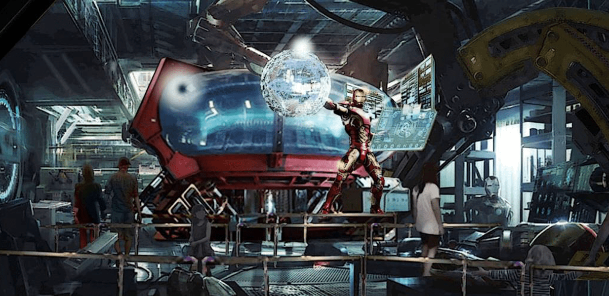 disneyland paris marvel attrazione supereroi iron man avengers
