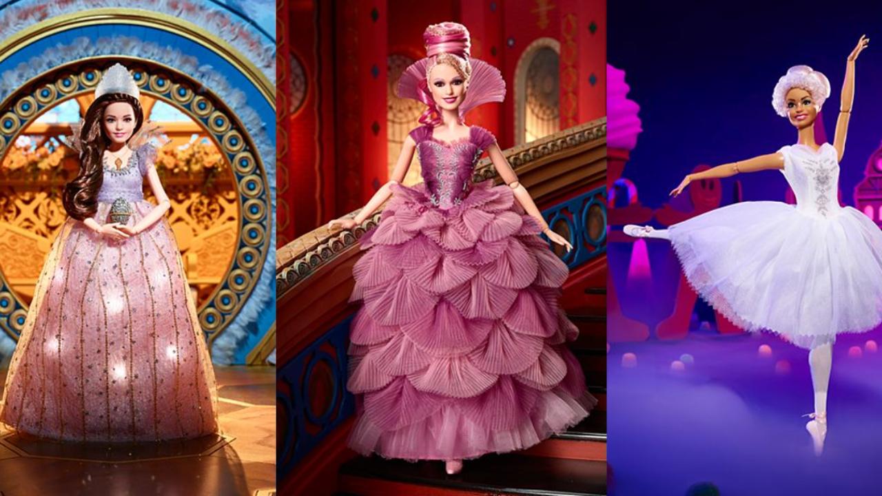 Lo Schiaccianoci E I Quattro Regni Le Bambole Mattel Di Clara La Fata Confetto E La Ballerina Imperoland