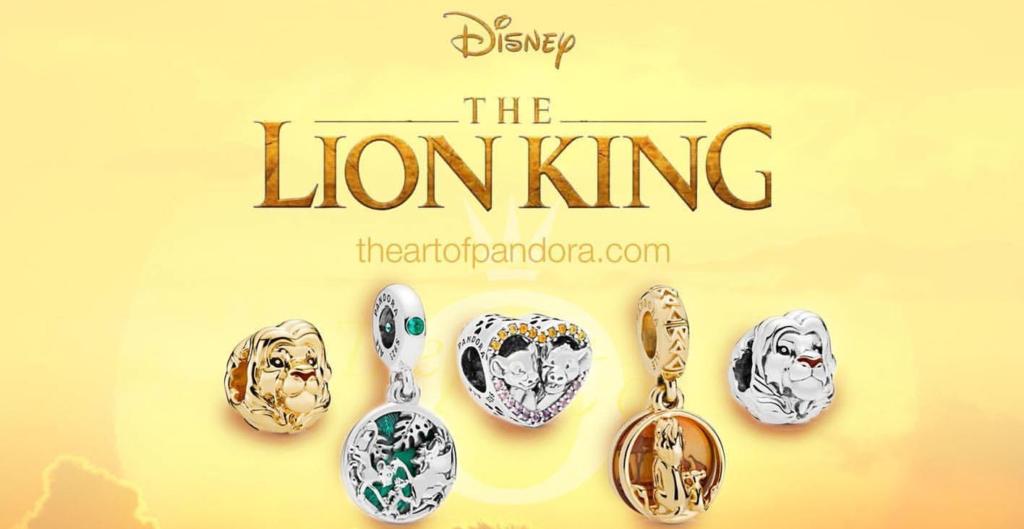 Continuano le collezioni Pandora dedicate alle pellicole Disney in uscita  al cinema quest\u0027anno dopo Dumbo, Aladdin e Toy Story 4 (tutte e tre  disponibili