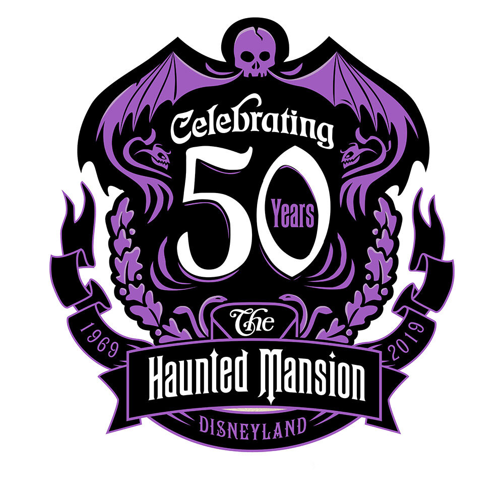 Haunted Mansion 50° Anniversario LOGO