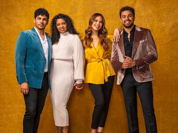 Il cast de Il principe d'Egitto musical in arrivo a Londra nel 2020.