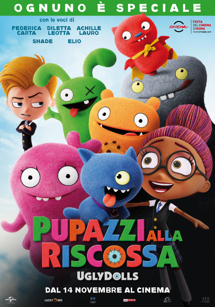 Il nuovo poster italiano di Pupazzi alla riscossa, in arrivo nelle sale il 14 novembre.