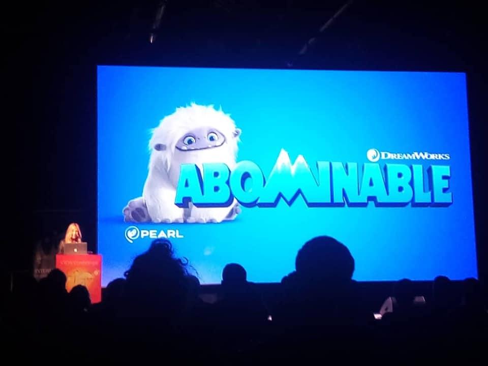 La regista Jill Culton presenta Il piccolo Yeti (Abominable) a VIEW Conference 2019.