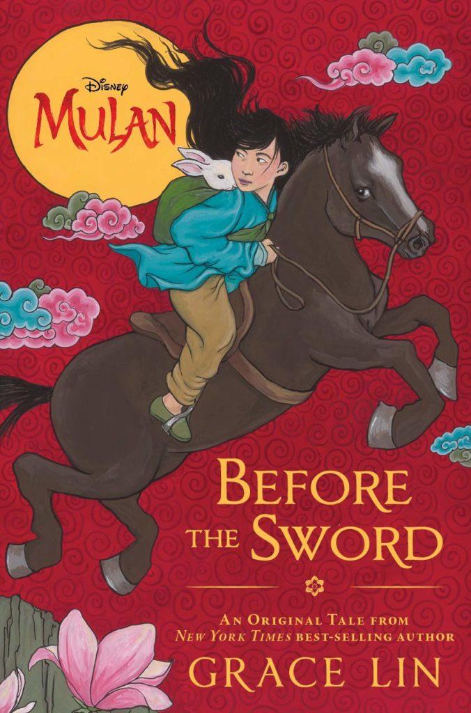 La copertina del romanzo Mulan Before The Sword, prequel del live action Disney.