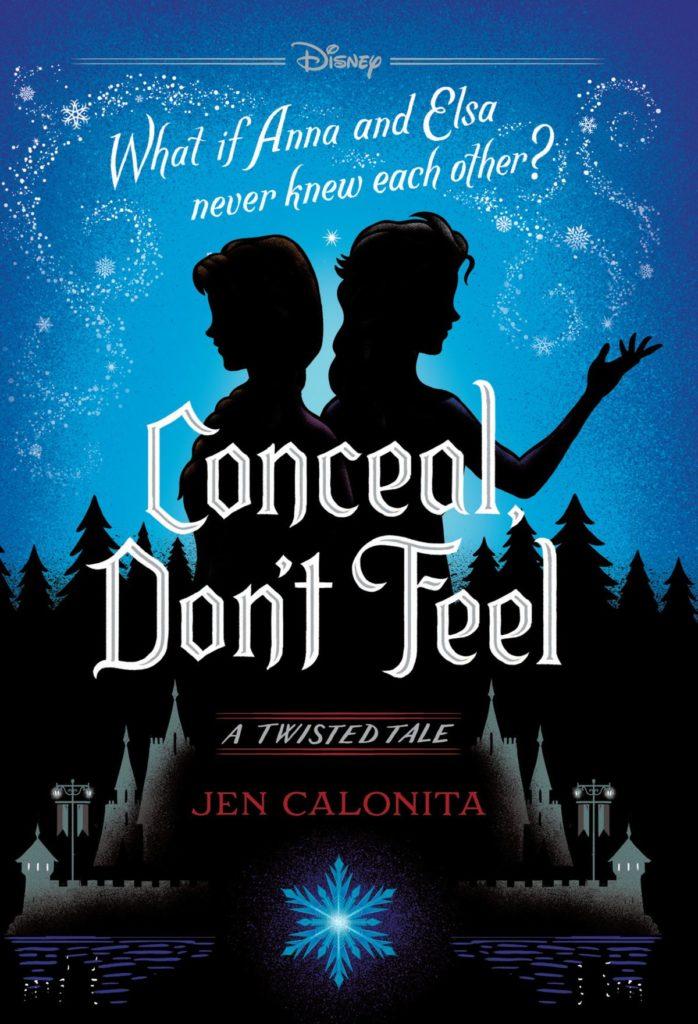 La copertina del romanzo su Frozen Conceal, Don't Feel uscito a ottobre 2019 in America.