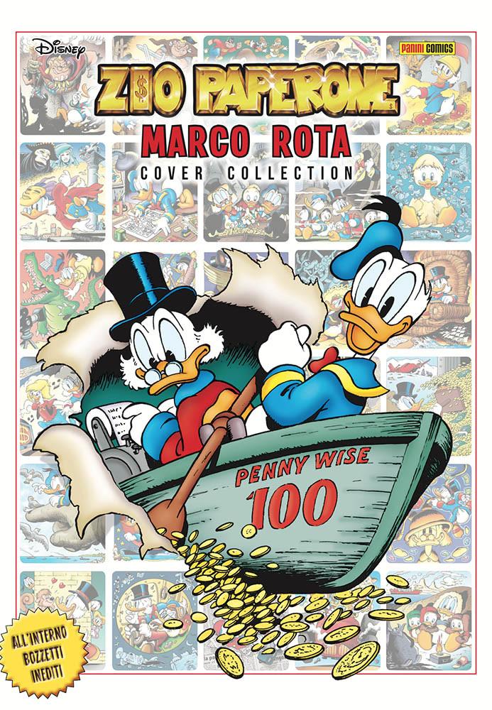 La cover del volume da collezione Marco Rota Cover Collection.