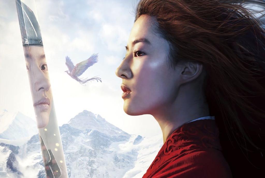 Close up del nuovo poster di Mulan live action con Liu Yifei.