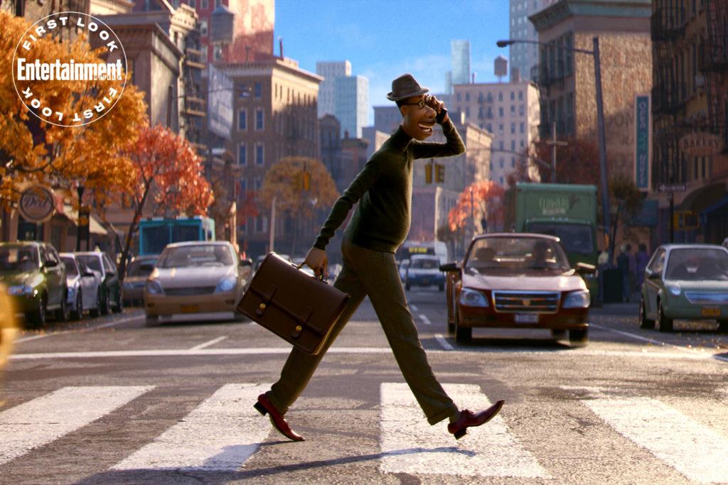 La prima immagine del nuovo film Pixar Soul. Fonte: Entertainment Weekly.