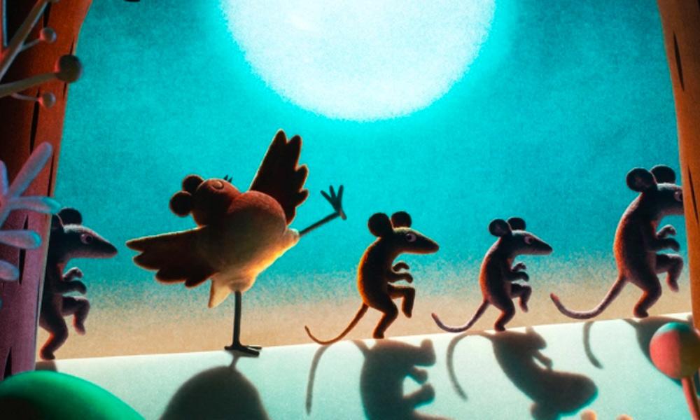 La prima immagine di Robin Robin, la collaborazione tra Aardman Animations e Netflix in arrivo a Natale 2020.