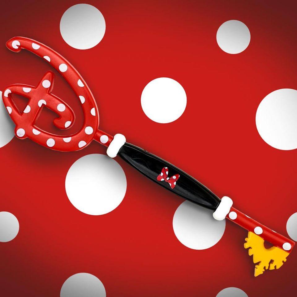 La chiave di Minni del Disney Store in uscita a febbraio 2020 nei negozi e online.