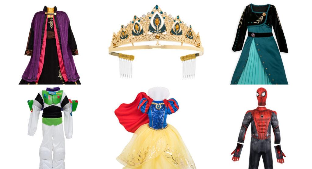 Costumi Di Carnevale Disney Frozen Ii Toy Story 4 E Marvel Tra