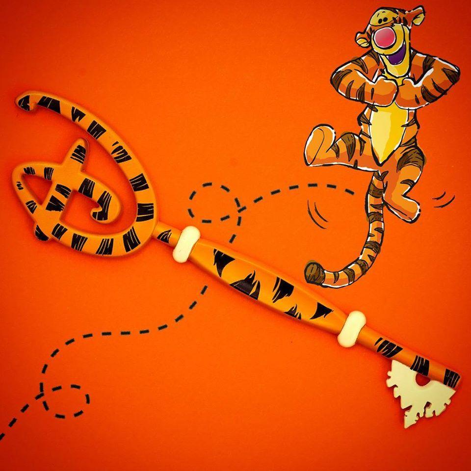 La foto della chiave di Tigro del Disney Store (fonte: pagina shopDisney)