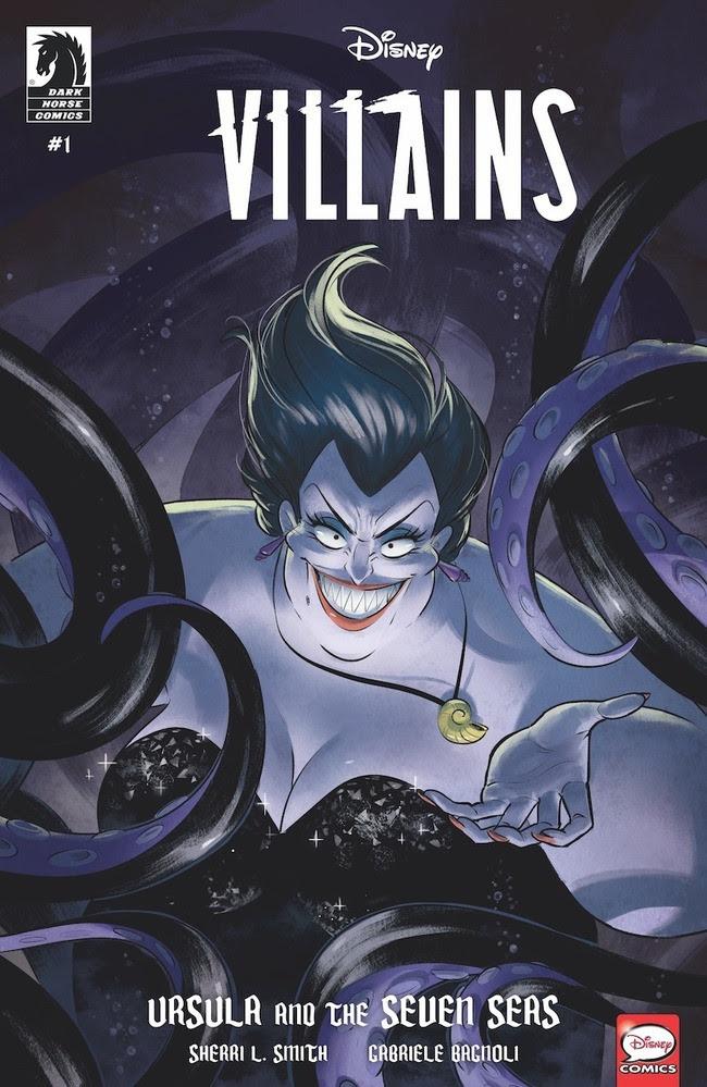 Il nuovo fumetto su Ursula de La Sirenetta in uscita a giugno in America.