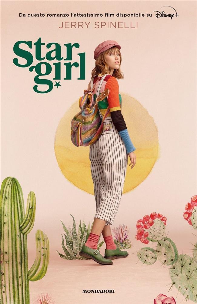 La nuova copertina del romanzo Stargirl di Jerry Spinelli, di nuovo in libreria dal 24 marzo.
