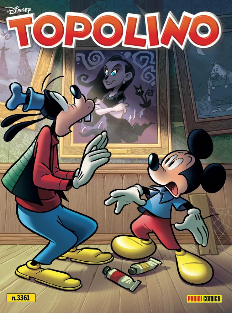 La copertina di Topolino 3361 in edicola per la Giornata della Terra 2020.