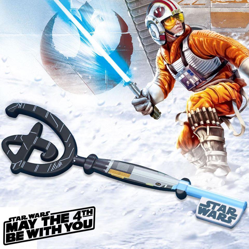 La chiave di Luke Skywalker del Disney Store arriverà online il 4 maggio in occasione dello Star Wars Day 2020.