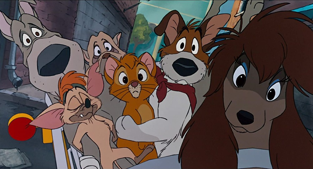 Disney oliver & Company