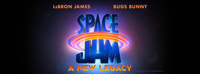 Il logo di Space Jam A New Legacy, il sequel in uscita nel 2021.