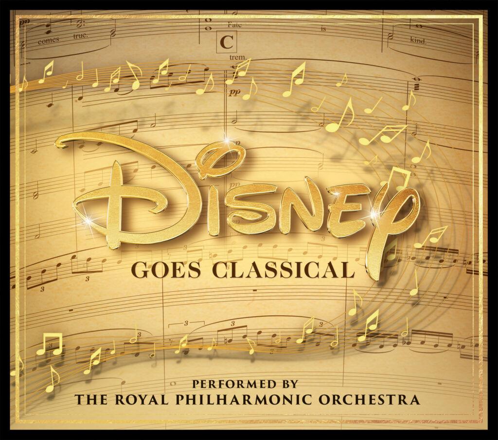 La cover dell'album Disney Goes Classical in uscita a ottobre.