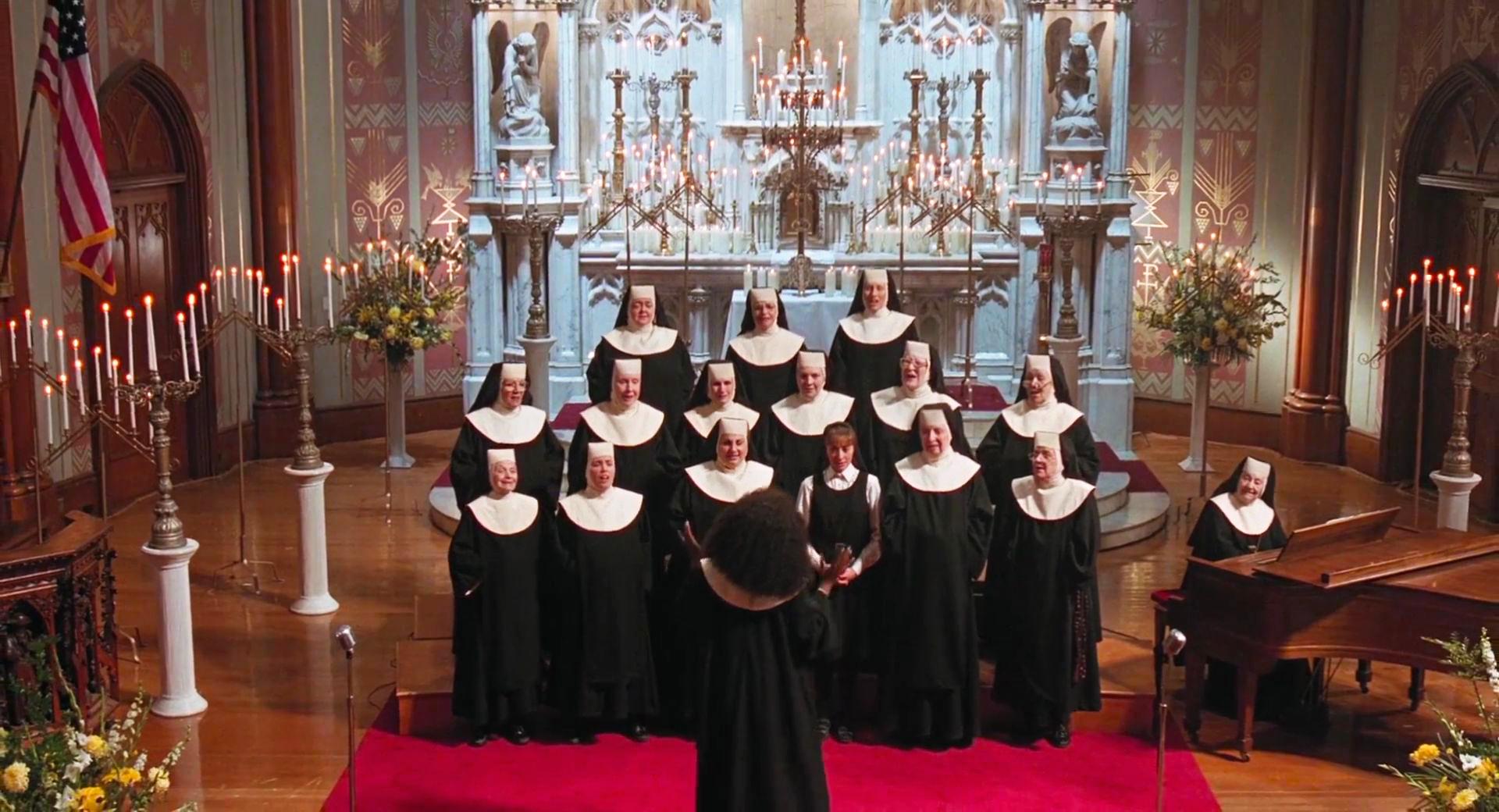 Curiosità sul film Sister Act - coro