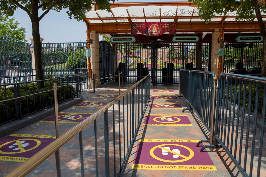Shanghai Disneyland riaprirà al pubblico l'11 maggio dopo l'emergenza coronavirus.