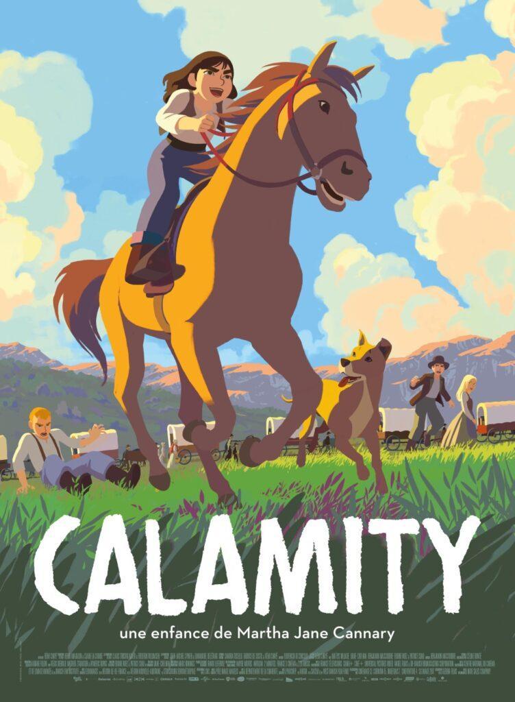 Il poster di Calamity, il nuovo film di Rémi Chayé.