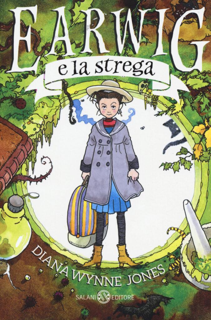 La copertina di Earwig e la strega, il libro da cui sarà tratto il prossimo film dello Studio Ghibli.
