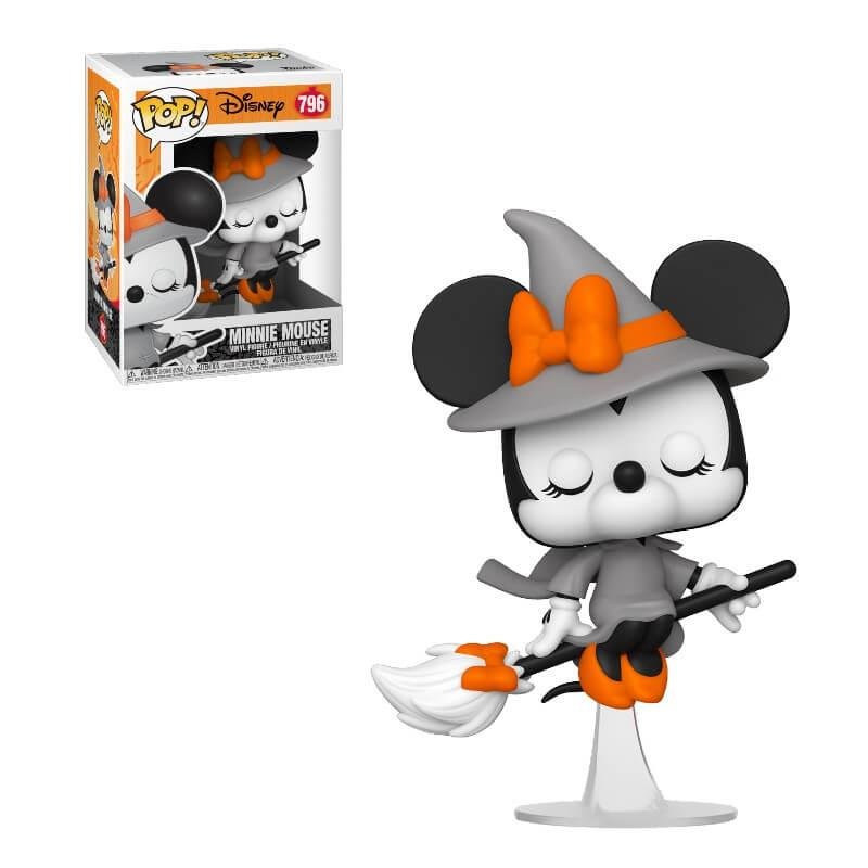 Il Funko Pop di Minnie versione Streghetta.