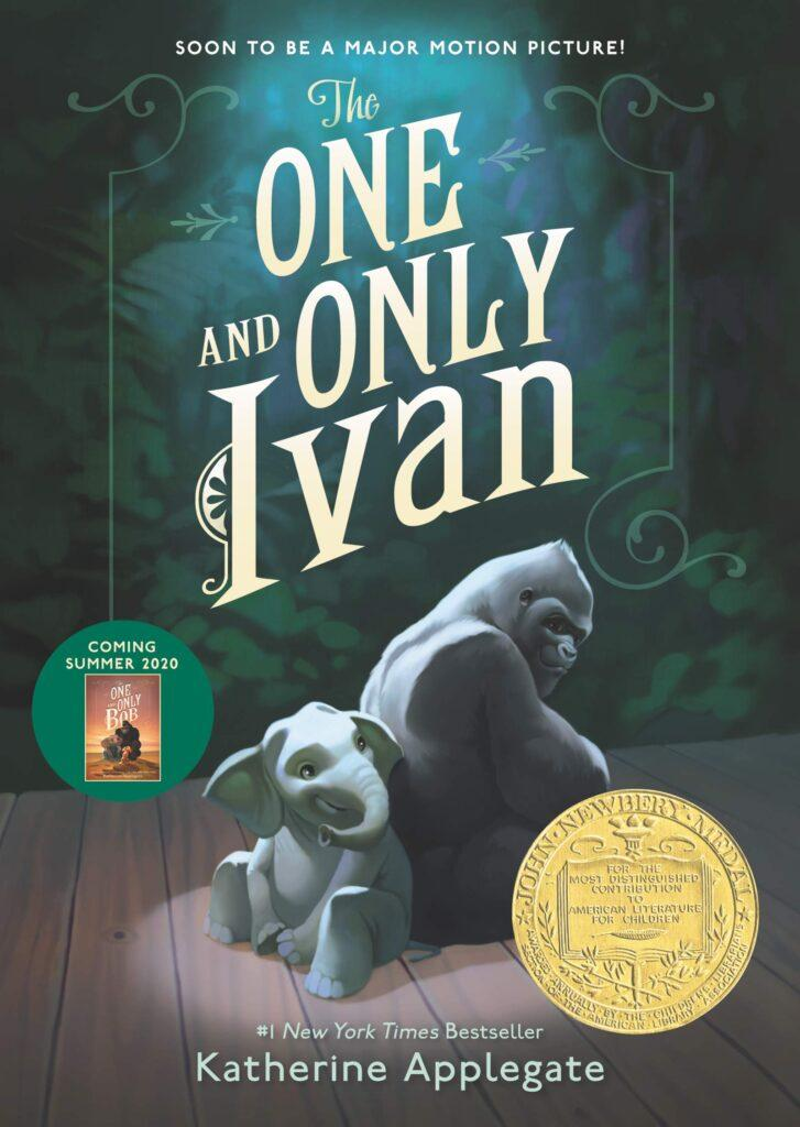 La cover del libro originale The One and Only Ivan.
