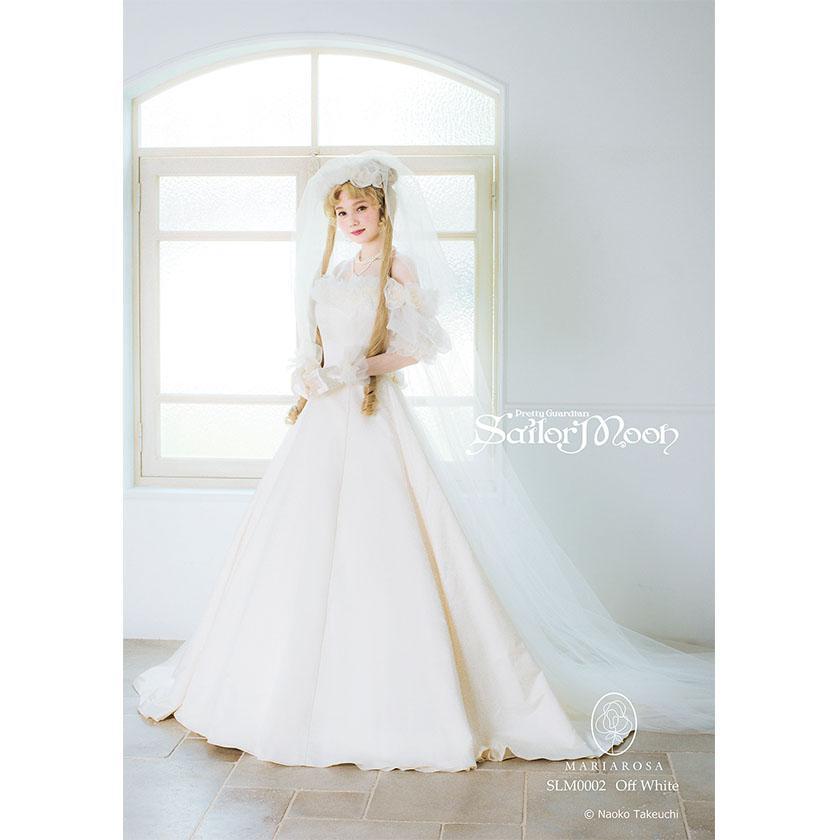 La collezione di abiti da sposa di Sailor Moon di Mariarosa Japan