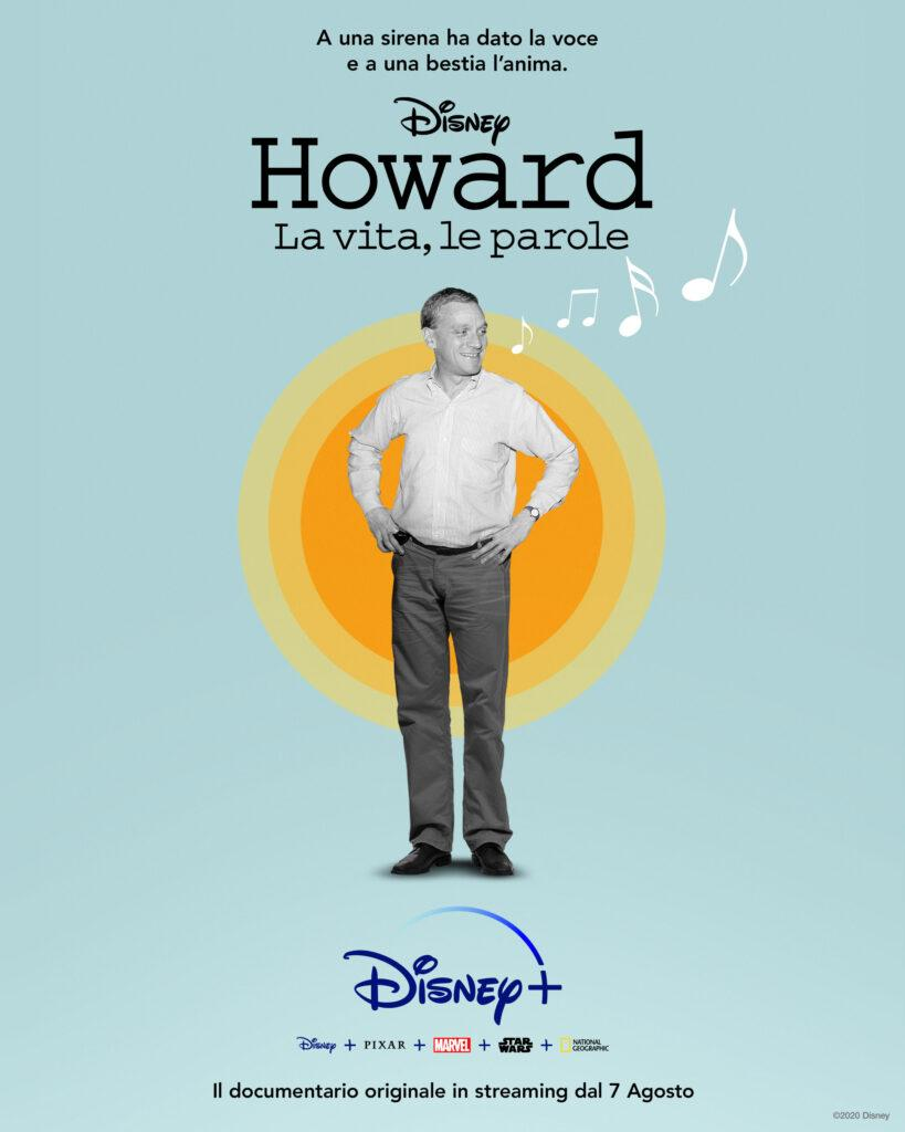 Il poster del documentario su Howard Ashman in arrivo su Disney+.