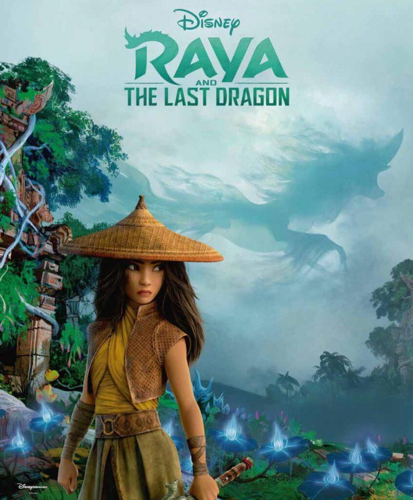 La prima immagine di Raya, protagonista del film Raya and the Last Dragon in arrivo l'anno prossimo per Walt Disney Animation Studios.