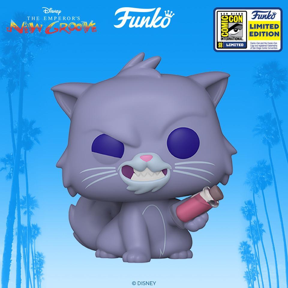Il Funko Pop di Yzma gatto da Le follie dell'imperatore