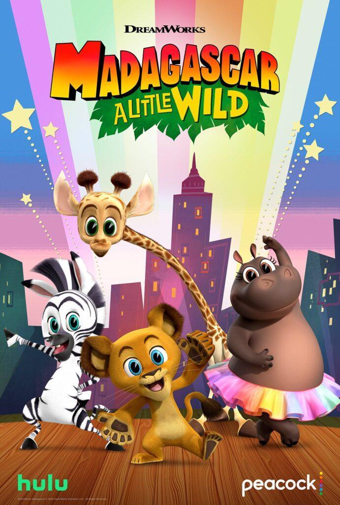 In arrivo a settembre Madagascar: A Little Wild, con protagonisti i personaggi del film DreamWorks da cuccioli.
