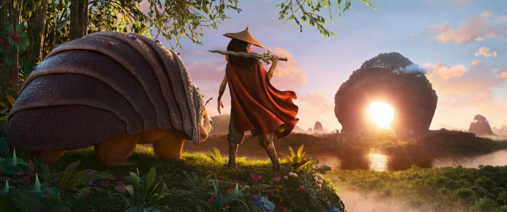 La prima immagine ufficiale di Raya and the Last Dragon.