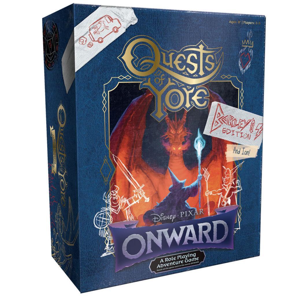 In arrivo il gioco Quests of Yore ispirato al film Pixar Onward - Oltre la magia.