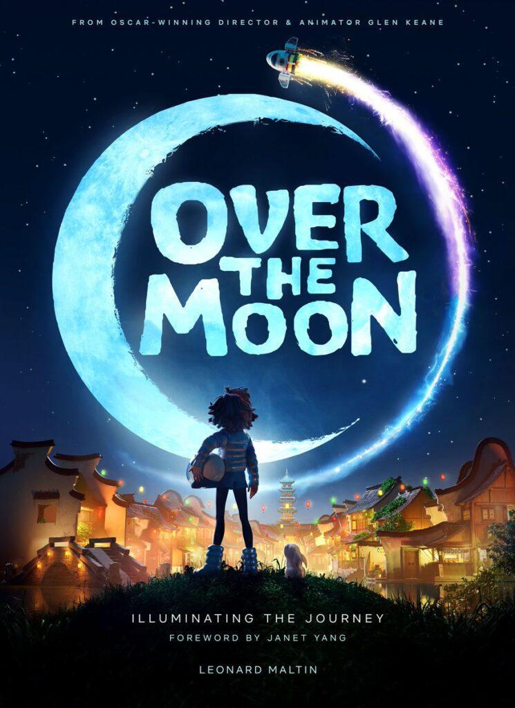 L'artbook di Over the Moon di Glen Keane, edito da Titan Books.