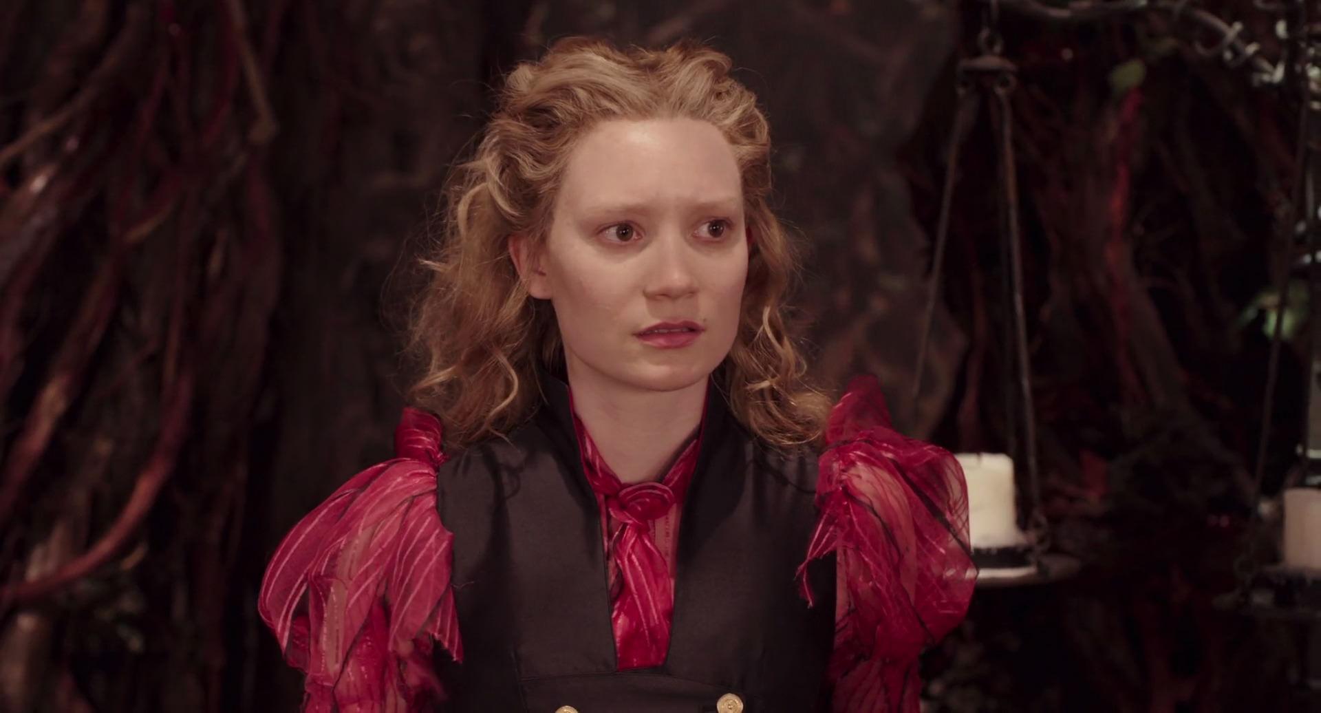Alice Attraverso lo specchio Screencap 3 - curiosità su mia Wasikowska