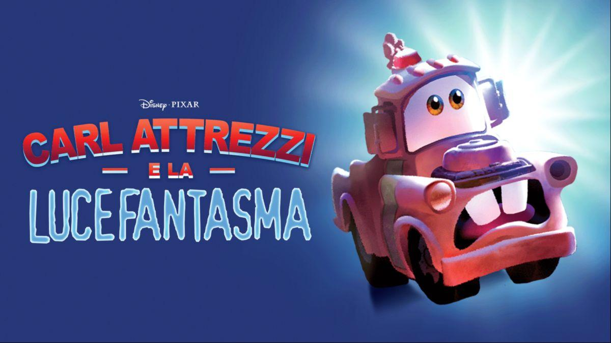 Carl Attrezzi e la luce fantasma Disney+ film di Halloween su Disney+