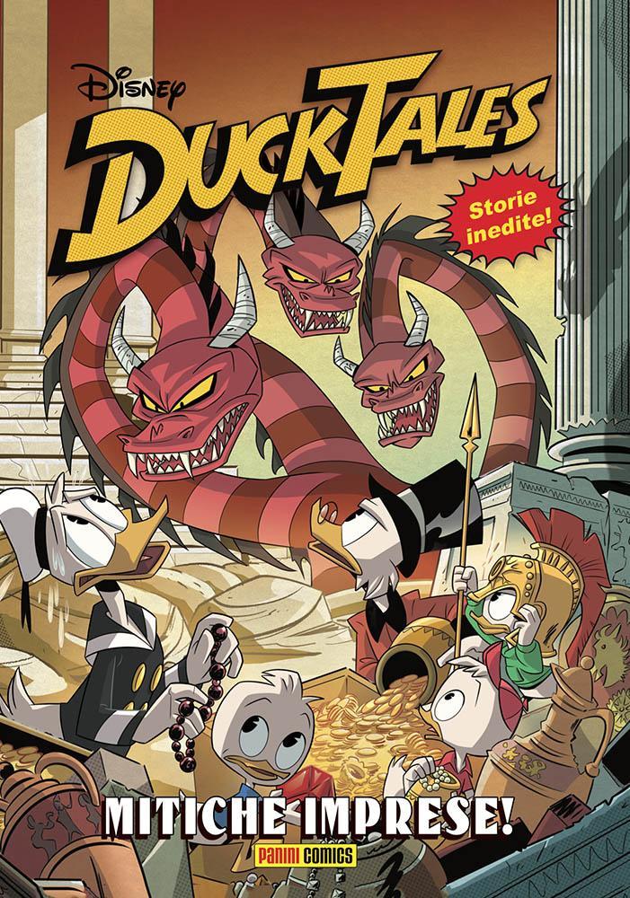 secondo numero di Ducktales Mitiche Imprese Lucca Changes 2020