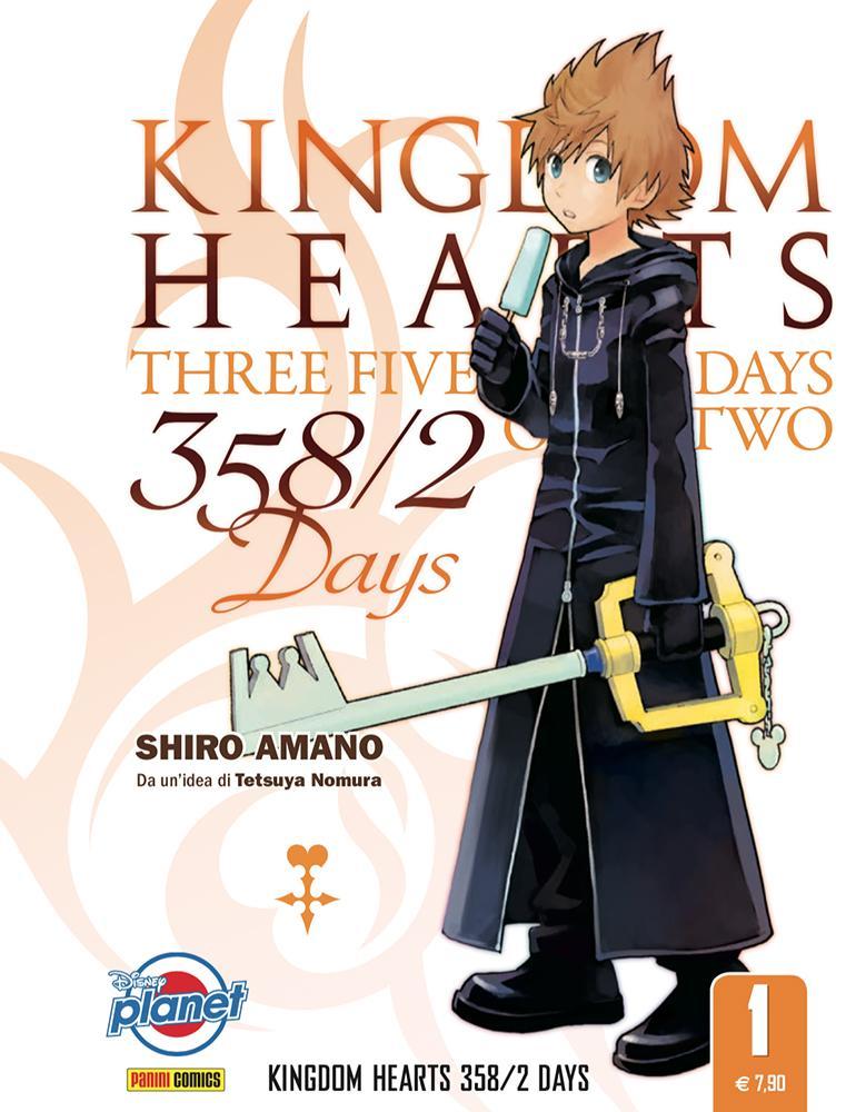 Kingdom Hearts 358/2 Days Lucca Changes 2020 novità Disney Panini Comics