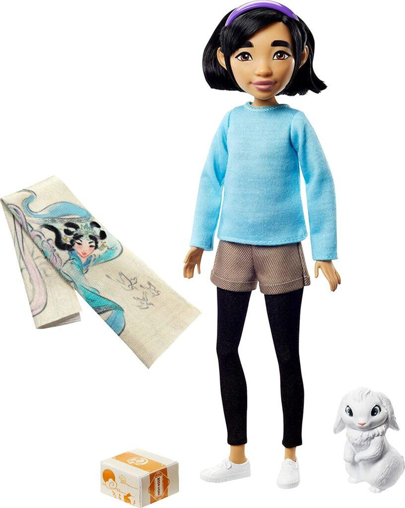Bambole di Over the Moon: la protagonista Fei Fei e il suo amico Bungee