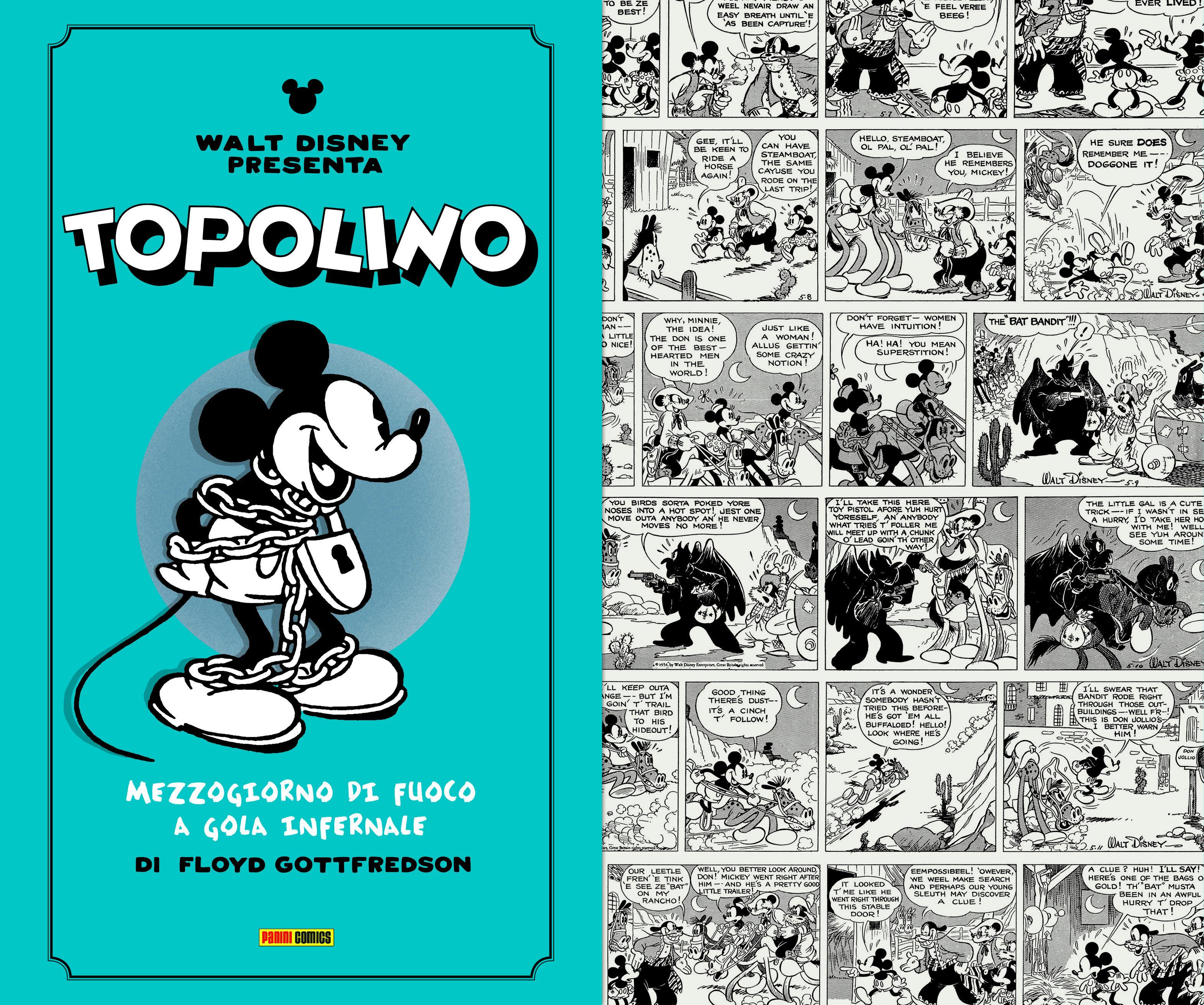 Mickey Mouse: le grandi storie di Floyd Gottfredson Topolino Lucca Changes 2020 novità Disney Panini Comics