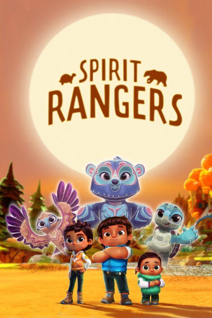 Il poster di Spirit Rangers, in arrivo su Netflix grazie a Chris Nee, autrice di Vampirina e Dottoressa Peluche.