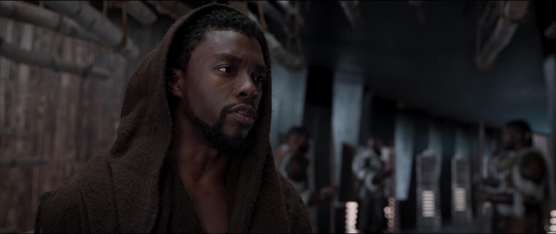 Curiosità su Chadwick Boseman Black Panther Screencaps