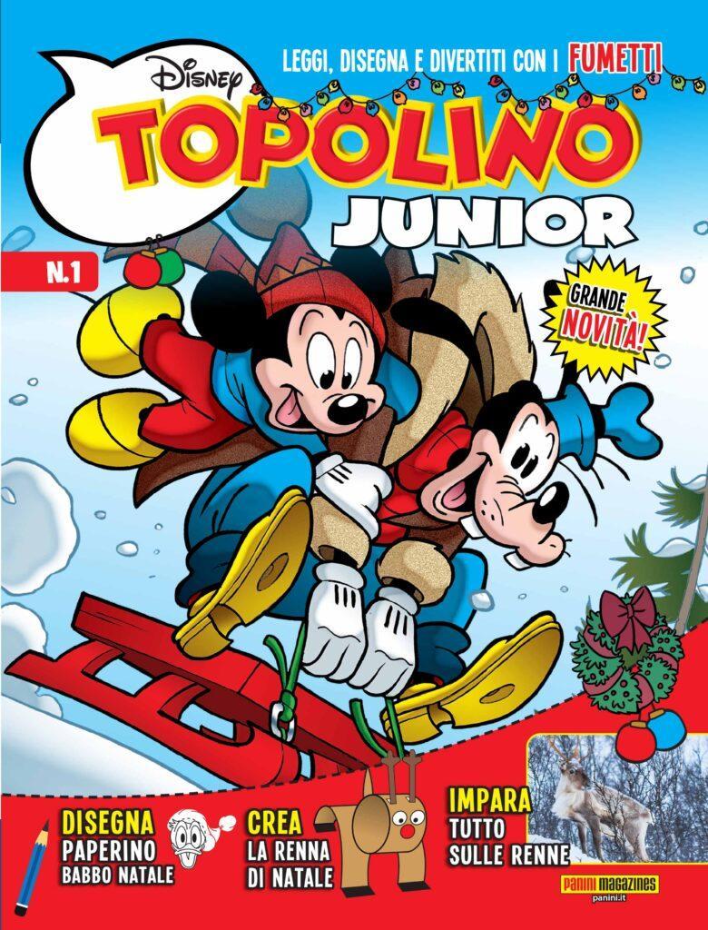 Topolino Junior 1 cover